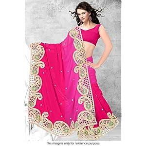 Ninecolours LD0210043 Bollywood Replica Lehenga - Pink