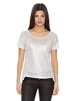 Springfield Camiseta T Lino Foil Extrem (Hielo)