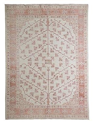 Darya Rugs Khotan Oriental Rug, Ivory, 6' 3