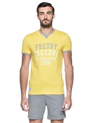 Freddy Camiseta Horatio (Amarillo / Gris)