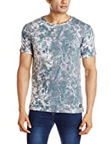 Peter England Men's Synthetic T-Shirt
