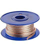 C2G / Cables to Go 27295 16 AWG Bulk Speaker Wire (25 Feet, Clear)