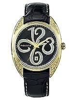 Police Wrist Watch - Black