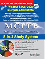 MCITP: 5-in-1 Study System, Windows Server 2008 Enterprise Administrator, 2011ed