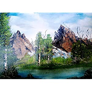 NUCreations Into The Wild - 4 - Original Painting - Oil Paint On Canvas