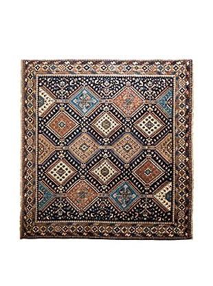 RugSense Alfombra Persian Yalameh Azul/Marrón/Multicolor 204 x 202 cm