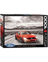 Euro Graphics 2015 Ford Mustang Jigsaw Puzzle (1000 Piece) By Euro Graphics