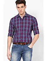 Checks Multi Colour Casual Shirt Call In France