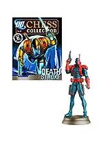 DC Superhero Deathstroke Black Pawn Chess Piece & Magazine