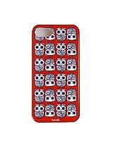 Chumbak Purple Owl Case for Apple iPhone 5 (Multicolor)