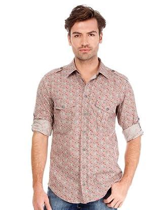 Hugo Boss Camisa Ezzer (Multicolor)