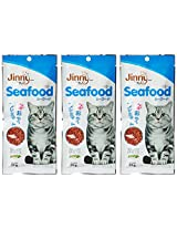 Jerhigh Jimmy Cat Sea Food (35 gms) Pack Of 3