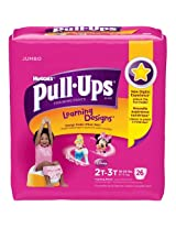 Huggies Pull-Ups Learning Designs Training Pants Girls 2T-3T 26 Count