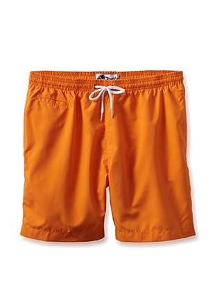 Trunks Men's San-O Swim Shorts (Orange)