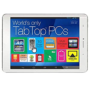 Milagrow M2 Pro Tablet (7.9 inch, 16GB, Wi-Fi+3G+Voice Calling), White