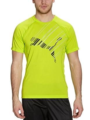 Puma T-Shirt Logo (lime punch)