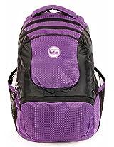 TLC Terminal Purple Laptop 15.6 inch Backpack Bag