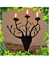 chinhhari tribal wrought iron Tree Candle stand