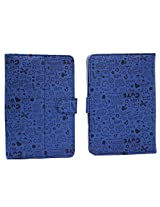 BRAIN FREEZER 7INCH TEDDY FLIP FLAP CASE COVER POUCH CARRY FOR HCL ME U2 TABLET BLUE