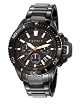Esprit Mack Chronograph Black Dial Men's Watch - ES107511003