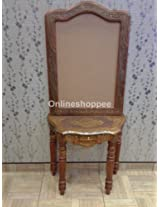 Onlineshoppee Sheesham Wood Dressing Table ( Brown, Mirror Frame Size - 31.5 x 20.5 Outer Mirror Frame Size - 38 x 27 Base Size - 28 inch Total Height -65 inch )