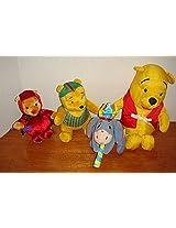 Winnie the Pooh Collection Splash, Devil, Wrestler Stuffed Plush