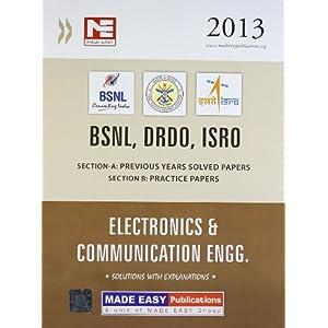 BSNL,DRDO,ISRO: Electronics and Communication Engg. 2013