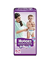 Huggies Wonder Pants Extra Large Size Diapers (32 Count)