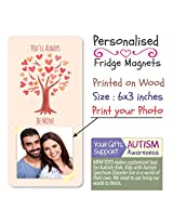 MFM TOYS 'You will always mine..' 6x3 inch Photo Fridge Magnet - Valentines Gift Special FREE GIFT WRAP & CUSTOM LABEL!