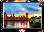 1,000 Piece Puzzle High Definition - Sunset on River Thames