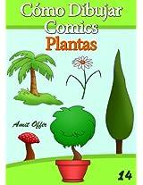 Cómo Dibujar Comics: Plantas (Libros de Dibujo nº 14) (Spanish Edition)