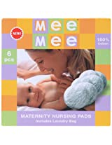 Mee Mee - Pack of 6 Reusable Nursing Pads