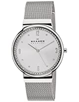 Skagen Analog Silver Dial Women's Watch - SKW2152I