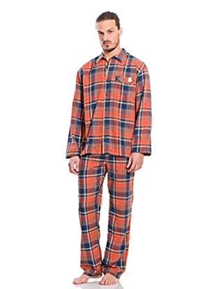 Springfield Pyjama (Orange/Blau)