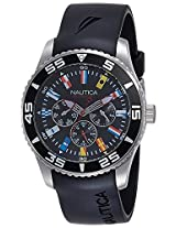 Nautica Analog Black Dial Men's Watch - NTA12626G