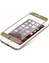 ZAGG InvisibleShield Glass Luxe, HD Clarity + Reinforced Screen Protection for Apple iPhone 6 Plus / iPhone 6S Plus - Screen - Retail Packaging - Gold