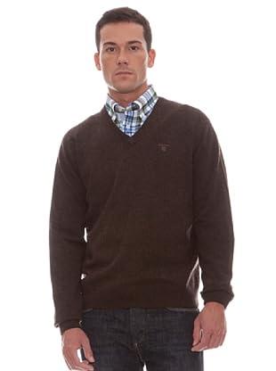 Gant Jersey Liso Pico (kakhi)