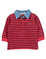Beebay Infant-boy B Logo Polo T-Shirt (C4014208021623_Red_0-3M)