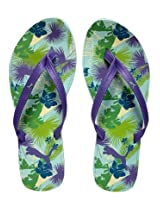 Puma Purple Flip Flops
