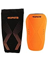 Kipsta F400 Football Shin Guards Orange - Size XL