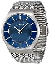 Skagen Analog Blue Dial Men's Watch - 833XLSSN1