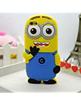 Double Eye Despicable Silicone Back Case Cover For Apple Iphone 6 (4.7)