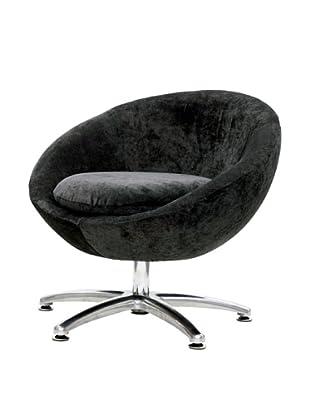 Overman International Five Prong Base Astro Chair, Dark Grey