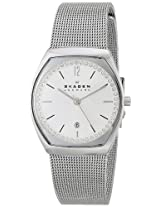 Skagen End-of-season Analog White Dial Women's Watch - SKW2049