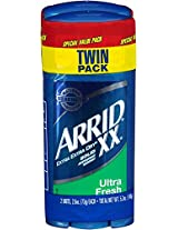 Arrid XX Solid Ultra Fresh Deodorant Twin Pack, 2 Count