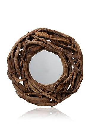 Uttermost Teak Root Mirror, Natural