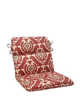 Waverly Sun-n-Shade Meridian Henna Chair Cushion (Red/Brown/Tan)