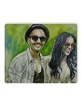 PosterGuy Deepika padukone and Ranveer Singh Fan Art Graphic Illustration Mouse Pad