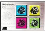 Indispash Tribal Colorful Coasters