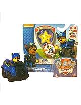 Nickelodeon Paw Patrol Super Spy Chase Bundle: 1 Spy Chase Action Pack Figure & Badge, 1 Spy Chase R